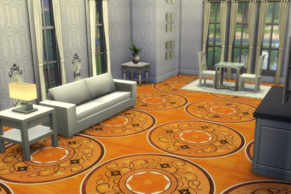 Blackys Sims 4 Zoo: Luxus carpet 6 by blackypanther
