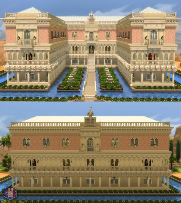 Mod The Sims: Doges Palace  The Floating Palace  by Amichan619