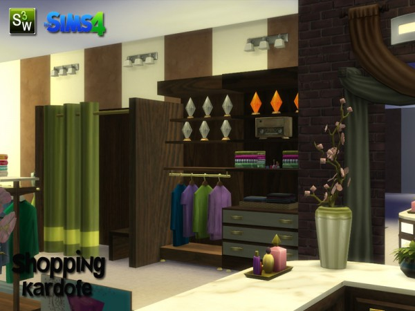 The Sims Resource: Shopping by Kardofe • Sims 4 Downloads