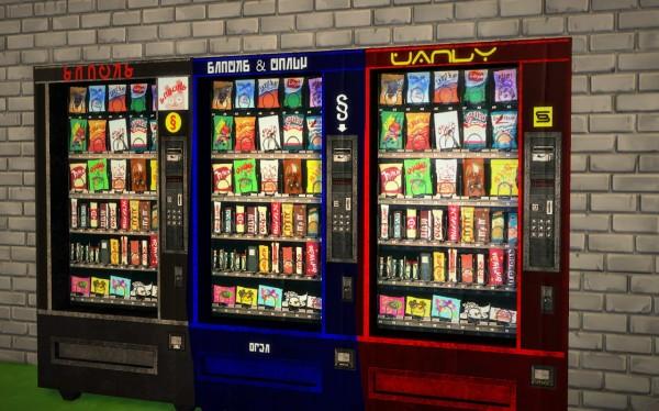 Budgie2budgie: Vending machine