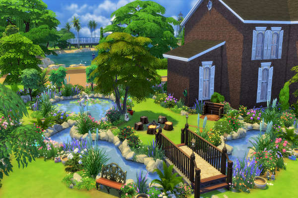 Blackys Sims 4 Zoo Secret Garden By Mystril Sims 4