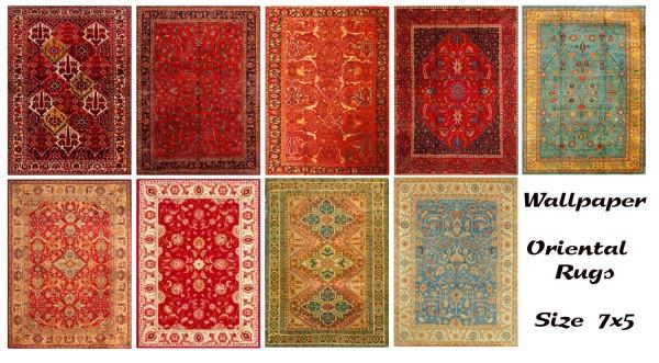 Boho Rug On Carpet