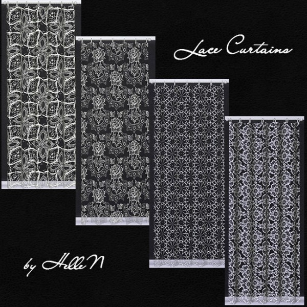 sims creativ lace curtains by hellen