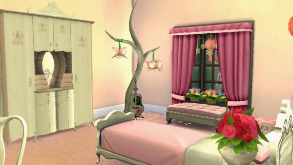 Sanjana Sims: Dreamy Teen Bedroom for Girls