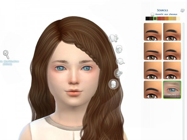 The Sims Resource: Eyebrows 10 by S Club