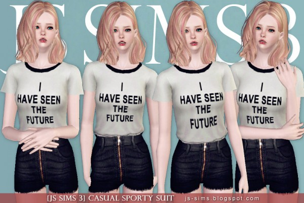 JS Sims 4: Casual Sporty Suit