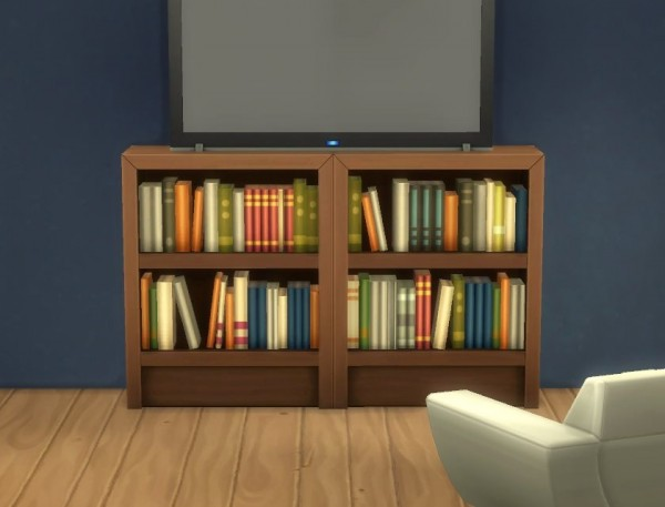 Mod The Sims Intellectual Bookcases Recolours By