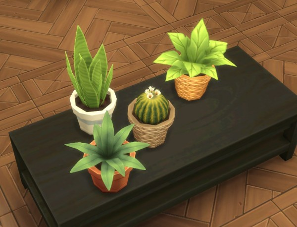 Mod The Sims: Modular Plants II by plasticbox