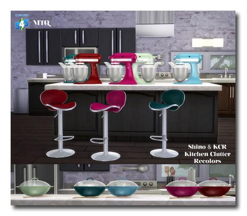 Msteaqueen: Shino & KCR's Kitchen Clutter Recolors