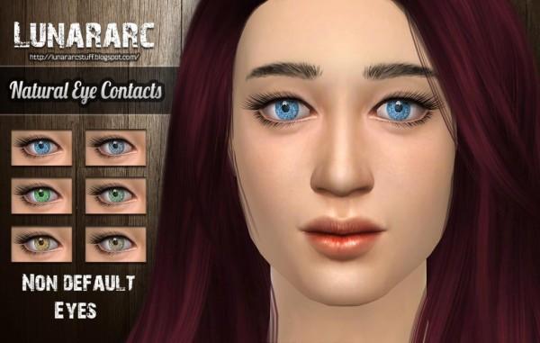 Lunararc Sims: Natural contacts