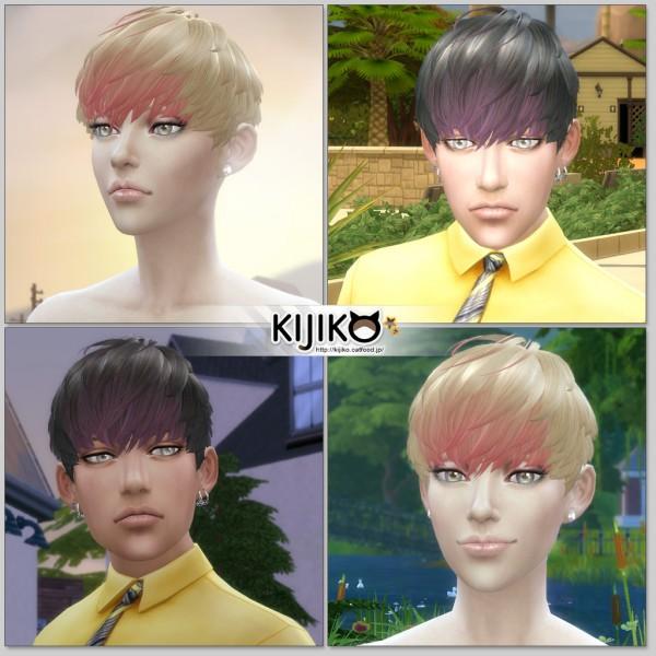 Kijiko: Short Hair With Heavy Bangs for Female