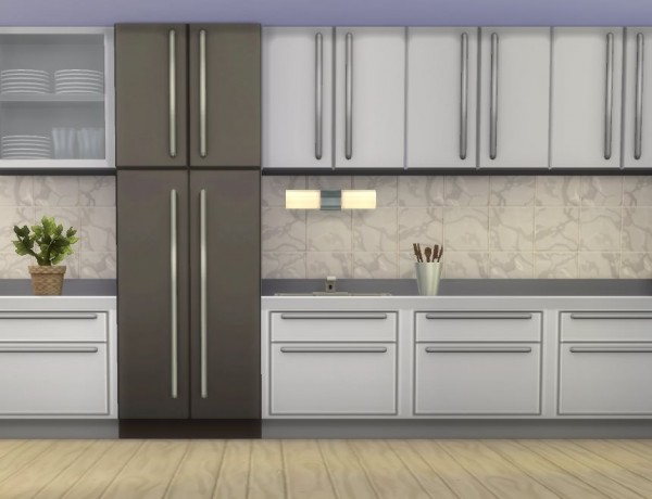 Mod The Sims: The Harbinger Fridge by plasticbox