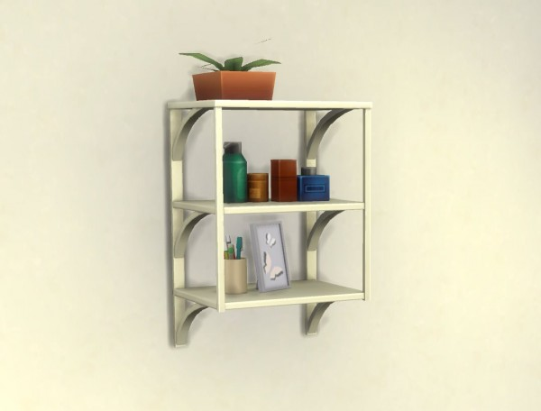 Mod The Sims: Functional Towel Rack by plasticbox