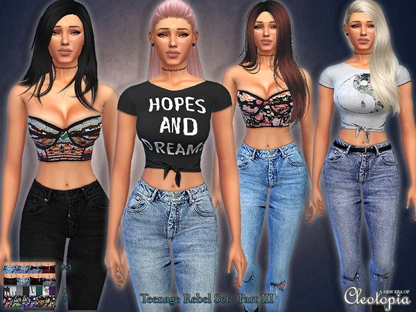 Sims 4 Cc Clothes Sets Related Keywords & Suggestions - Sims 4 Cc