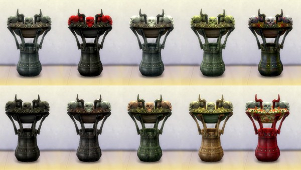 Mod The Sims: Gothic End Table by Esmeralda