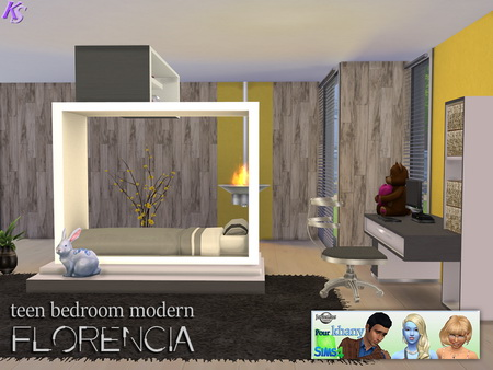 Khany Sims: Teen room Florencia