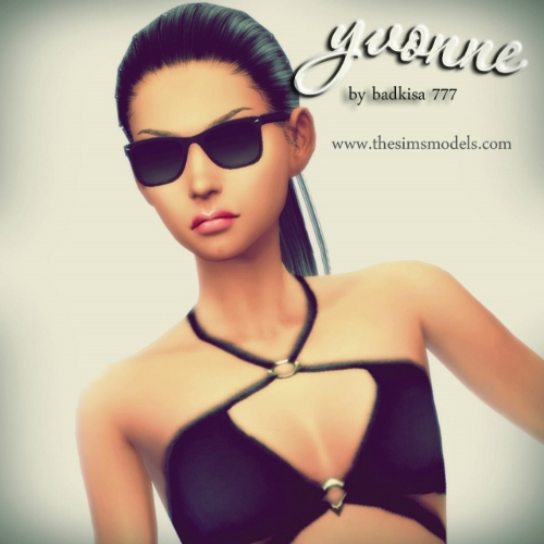 The Sims Models: Yvonne sims by badkisa777