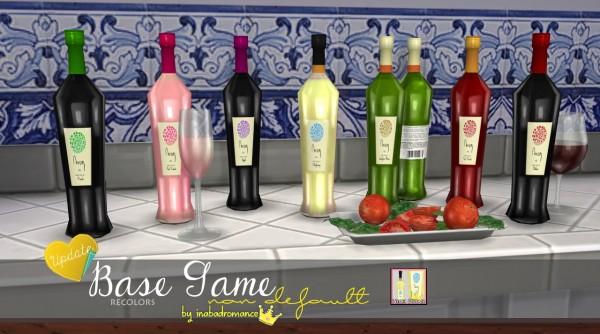 In a bad romance: Two new wine bottles: Syrah & Sauvignon Blanc