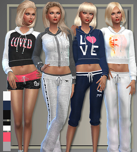 All about style athletic separates sims 4 downloads for Dress shirts for athletic build