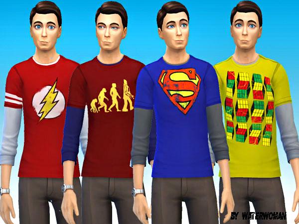 Akisima Sims Blog Big Bang Theory Sheldon Coopers