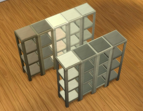 Mod The Sims Raw Shelves By Plasticbox Sims 4 Downloads
