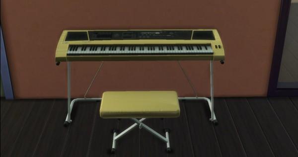 Mod The Sims: Keyboard Piano by AdonisPluto