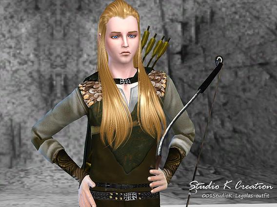 Studio K Creation: Legolas full outfit