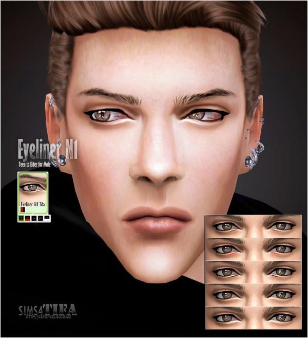 Tifa Sims: Eyeliner V1