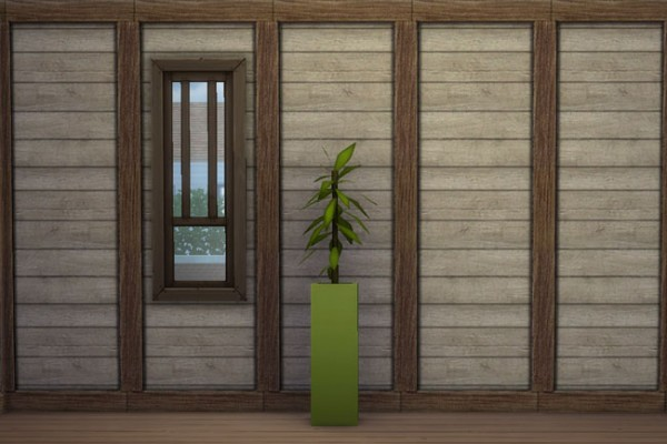 Blackys Sims 4 Zoo: Wall natur 1 by mammut