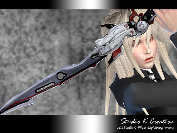 Studio K Creation: Lightning sword