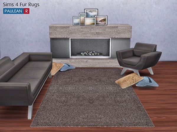 Paluean R Sims Fur Rugs Sims 4 Downloads