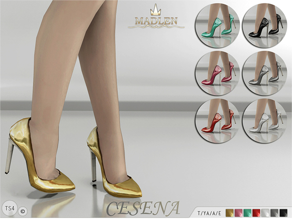 The Sims Resource: Madlen Cesena Shoes by MJ95