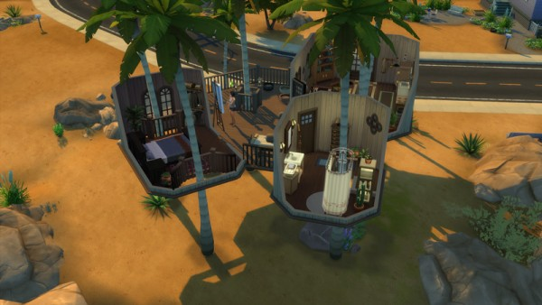 Mod The Sims: Coconut Tree House by keexz