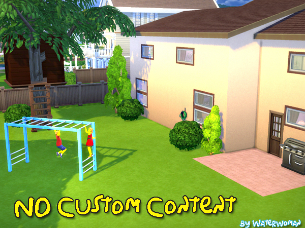 Akisima Sims Blog The Simpsons House Sims 4 Downloads