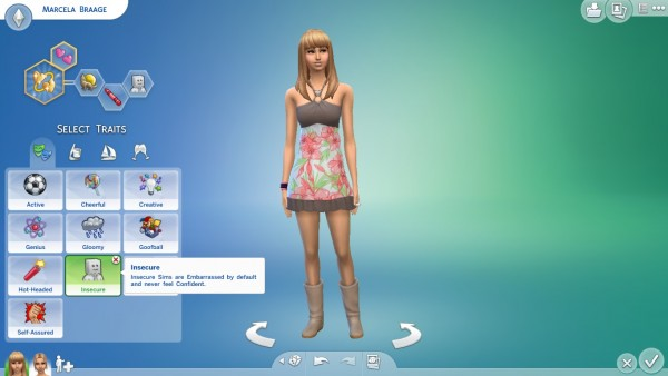 Mod The Sims: Insecure new trait by Rguerra