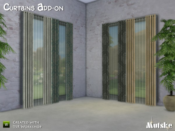 The Sims Resource Curtains Curtains Curtains By Mutske