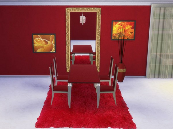 Sims Creativ: Diningroom Capriccio by HelleN