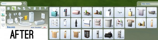 Mod The Sims: Reorganized Catalog by FakeHouses