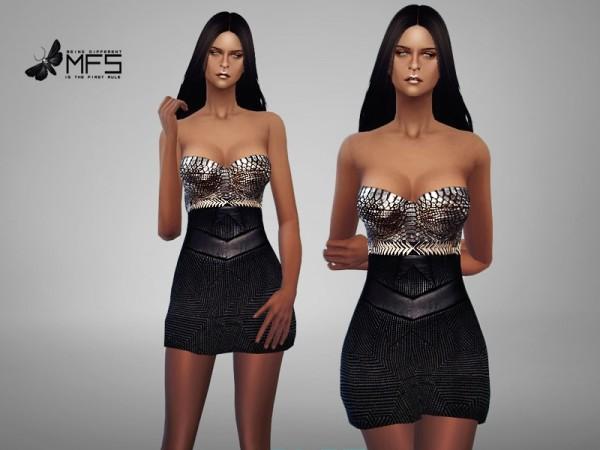 MissFortune Sims: Roxy Dress