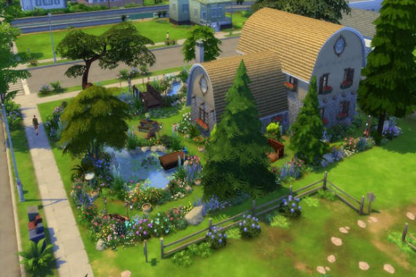 Blackys Sims 4 Zoo: Sweet Garden by Mystril