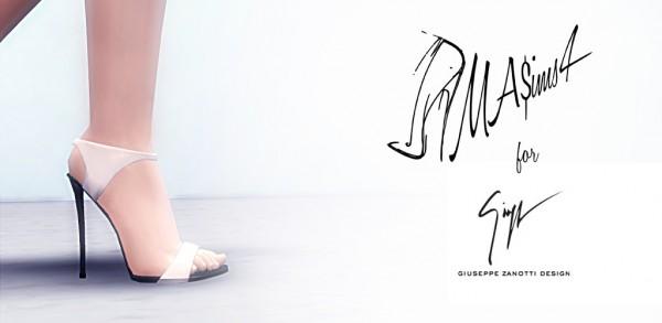 MA$ims 3: Giuseppe Zanotti Stiletto Sandals