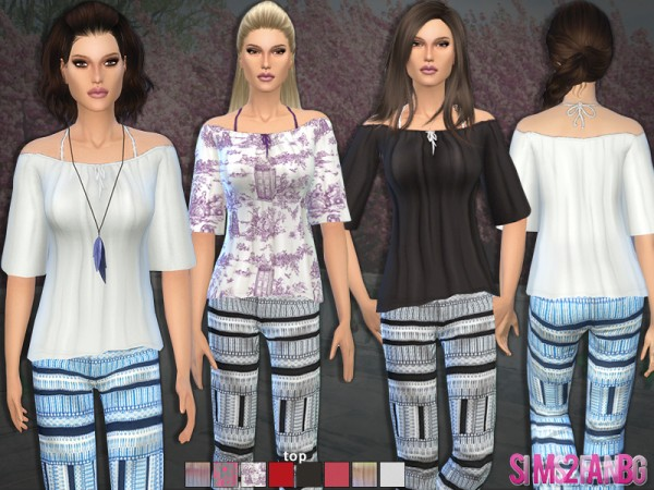 The Sims Resource: 41   Bohemian set by Sims2fanbg