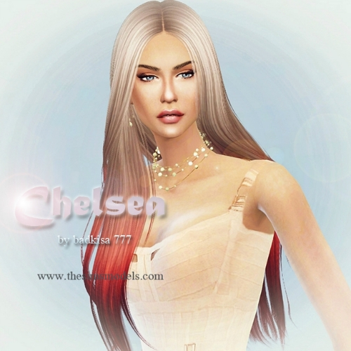 Sims 4 Cc S The Best Windows By Tingelingelater: The Sims Models: Chealsea Sim By Badkisa777 • Sims 4 Downloads