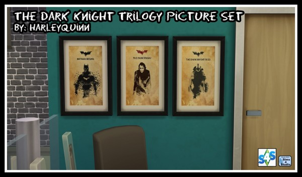 Harley Quinn Nuthouse: The Dark Knight Trilogy Picture Set
