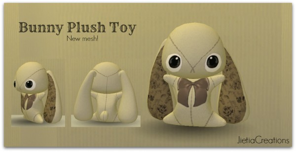 Jietia Creations: Bunny plush toy