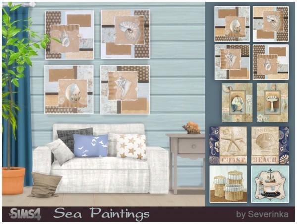 Sims by Severinka: Sea paintings
