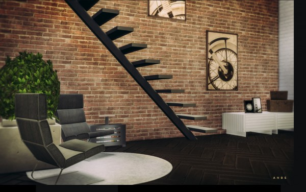 Alachie And Brick Sims Bamboo Lounge Sims 4 Downloads