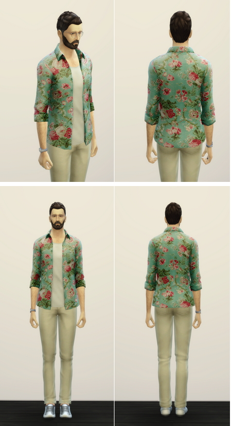 Rusty Nail: Floral Blossom M outfit