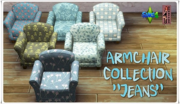 Annett`s Sims 4 Welt: Armchair Collection Jeans
