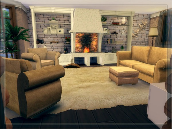 The Sims Resource V 08 Fully Furnished House By Vidia